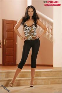 filles sexy en leggings vues de devant-007