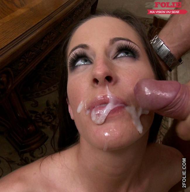 enorme ejac faciale