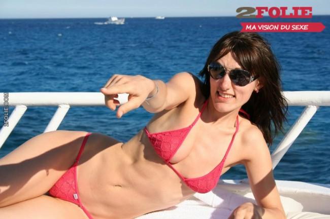 Russes russes en bikini