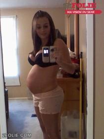 Femme enceinte selfshot 06