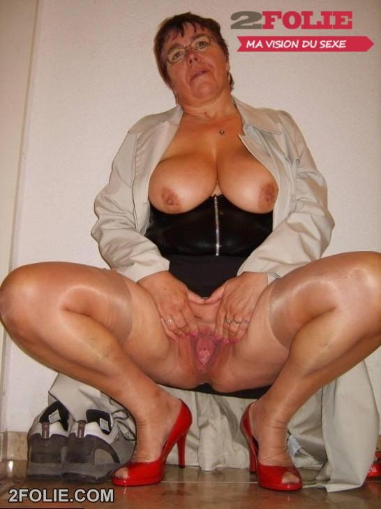 Elle aime les grosses queues salope vieille