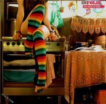 bandantes chaussettes multi-couleurs-007
