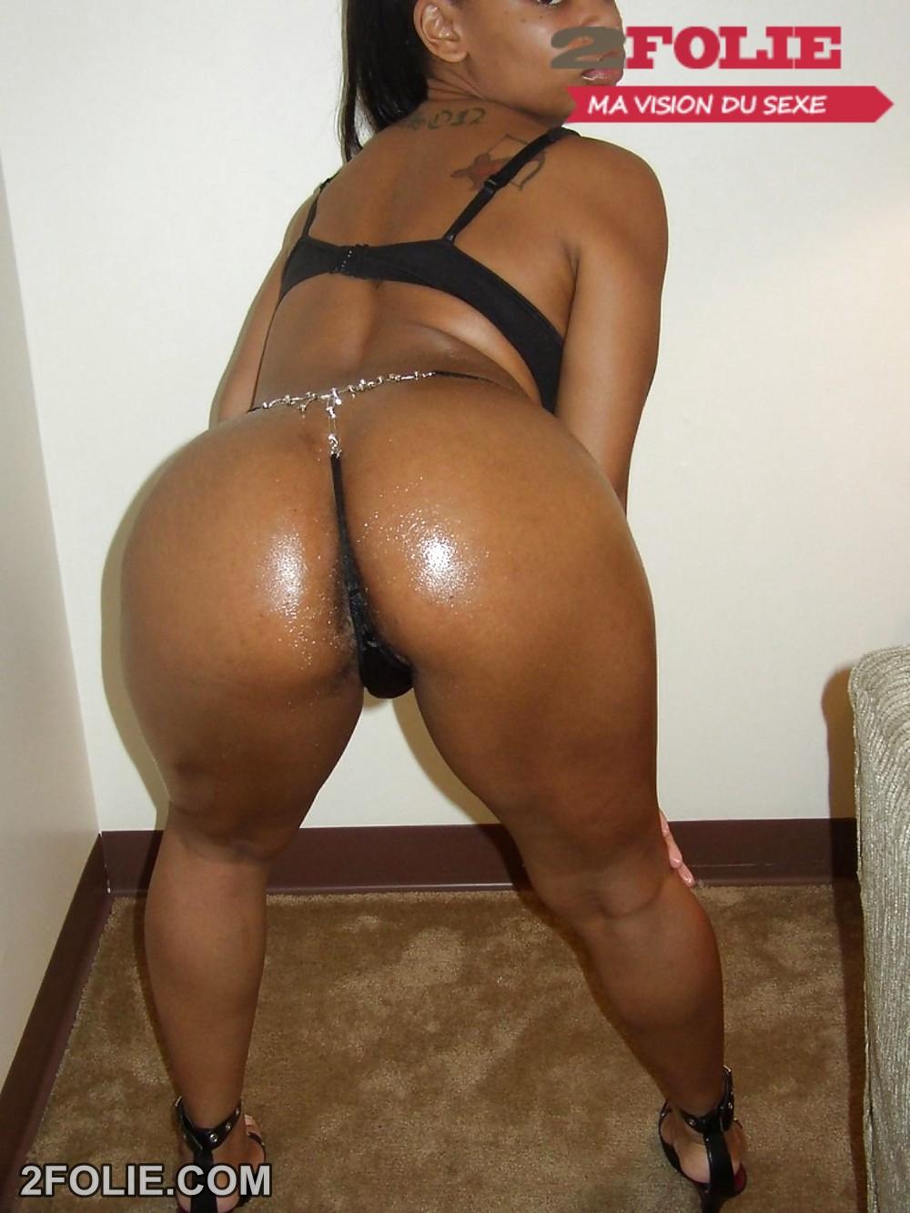 fesse femme noir