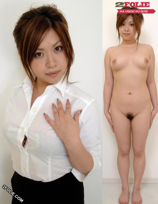 femmes asiatiques habillées puis nues-020