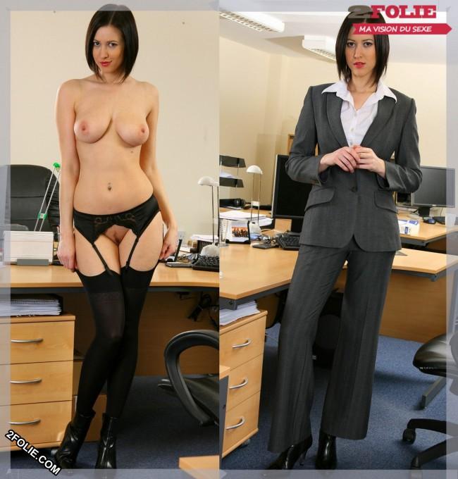 femmes sexy habillées puis nues-001