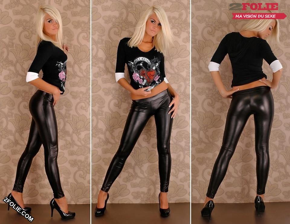 photo pantalon cuir