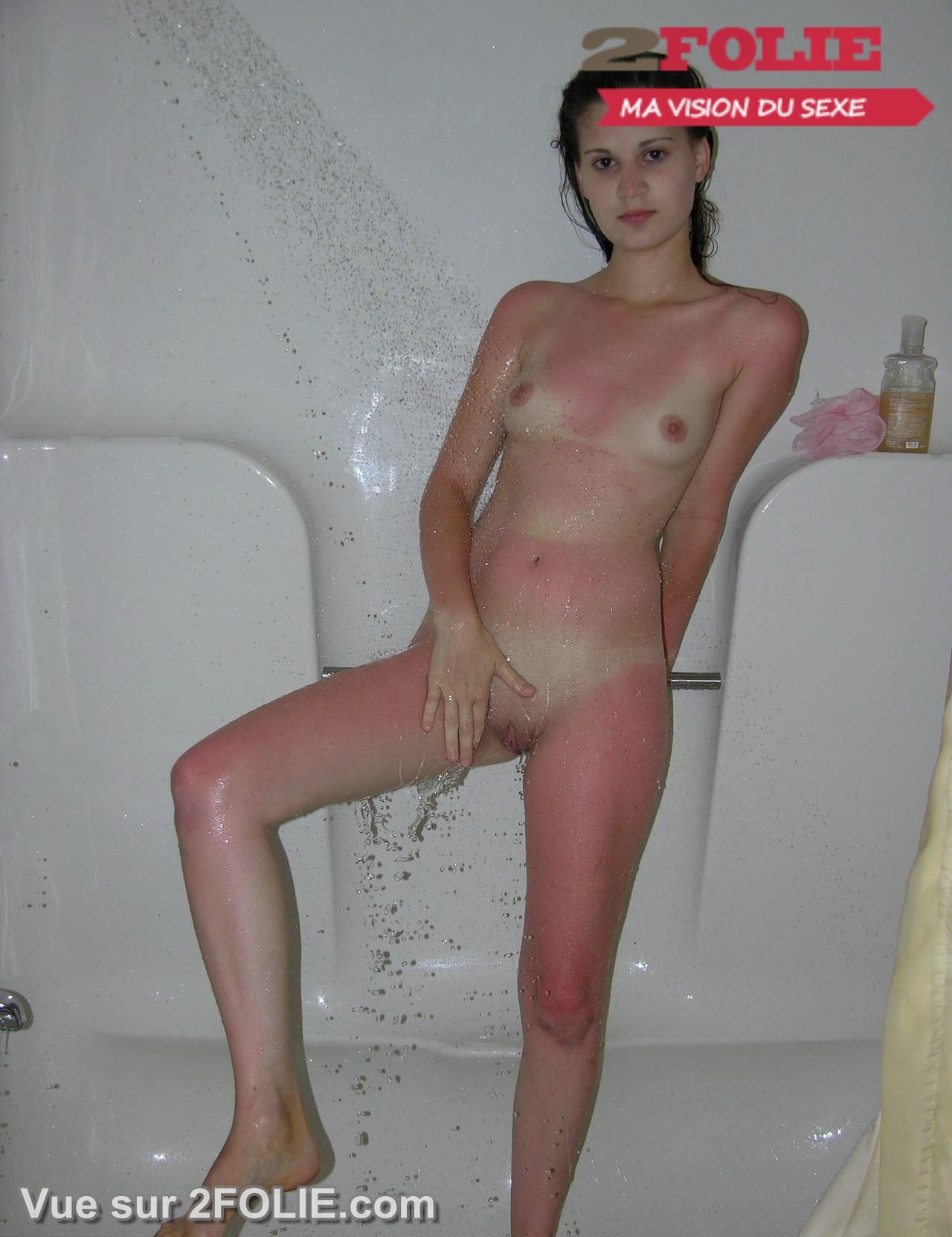 Hot xxx dans la douche