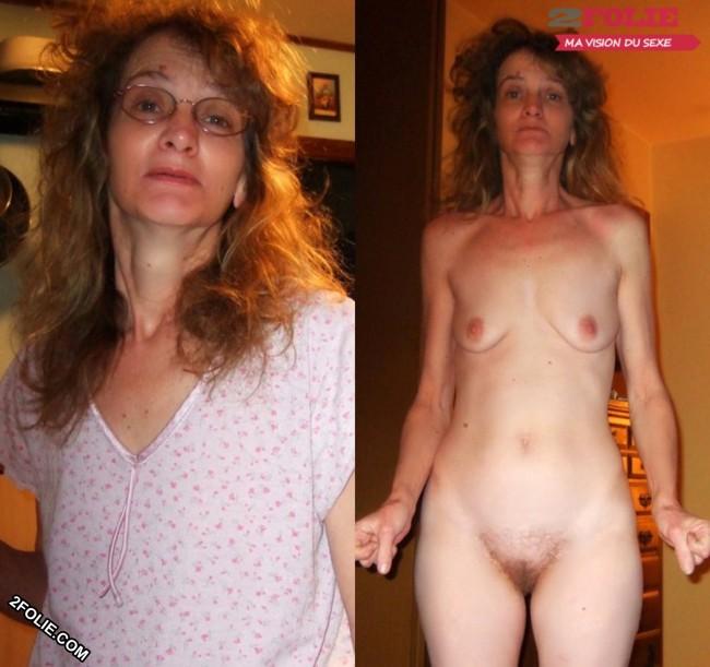 MILF habillées et nues-003