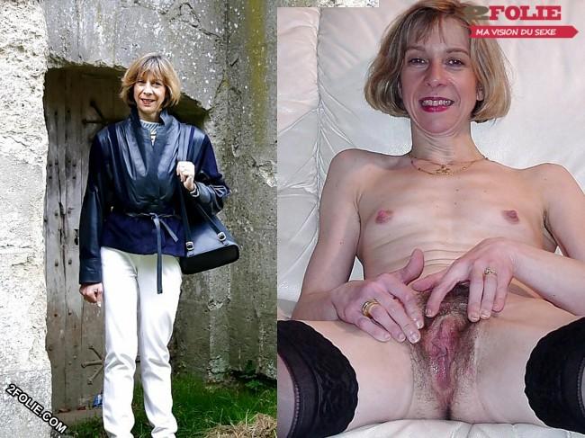 MILF habillées et nues-008