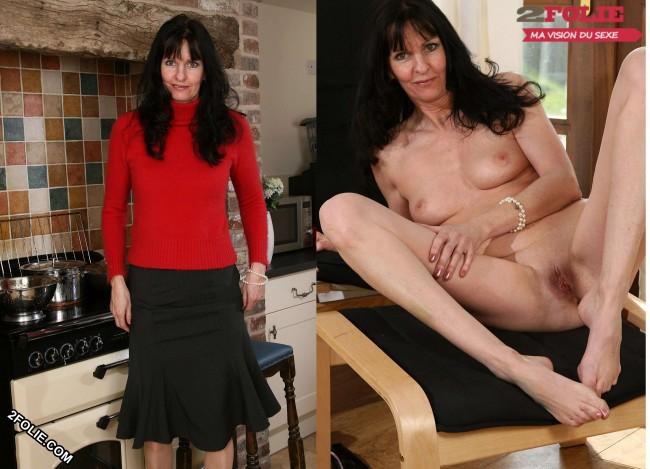 MILF habillées et nues-001