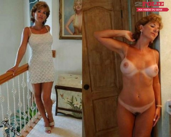 MILF sexy habillées et nues-001
