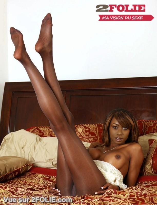 Filles noires pieds sexe