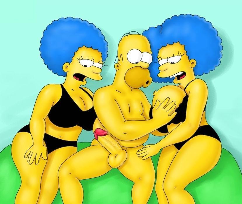 фото симпсонов бувье эро сестры