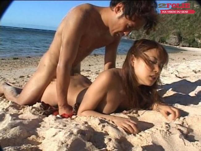 baise a la plage