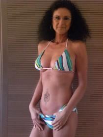 Femme mûre sexy  avec une belle poitrine (4)