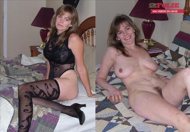 MILF habillées ou nues en photos (1)