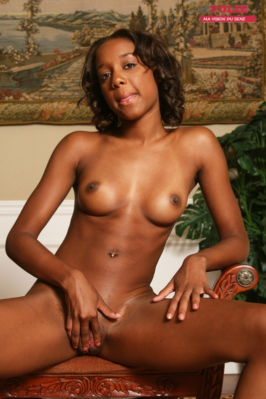 Photo d'une jolie fille black sexy (4)