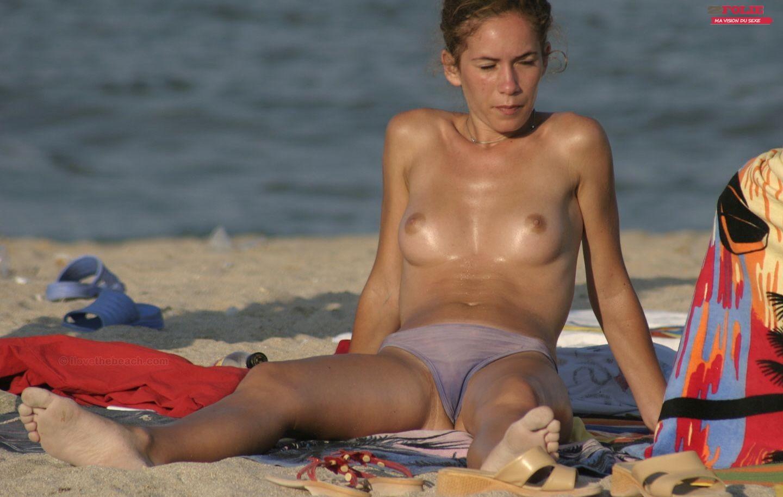 french a la plage