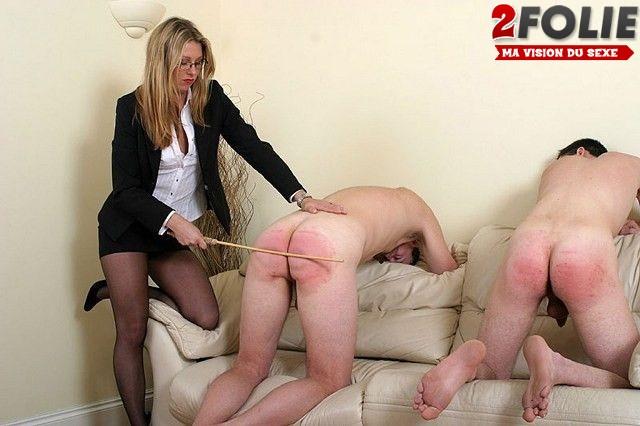 Bondage Women Who Spank Captions Por 1