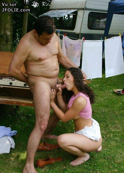 oups pas de culotte baise camping