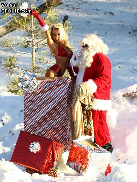 Père Noël photo porno