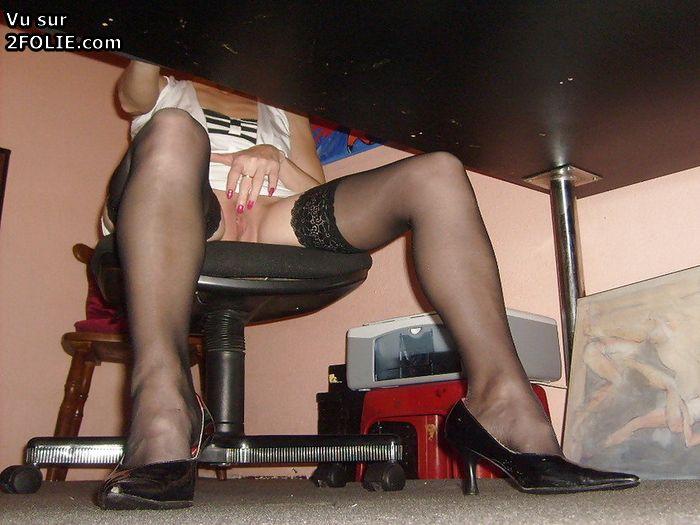 Market upskirt black pantyhose - 1 part 6
