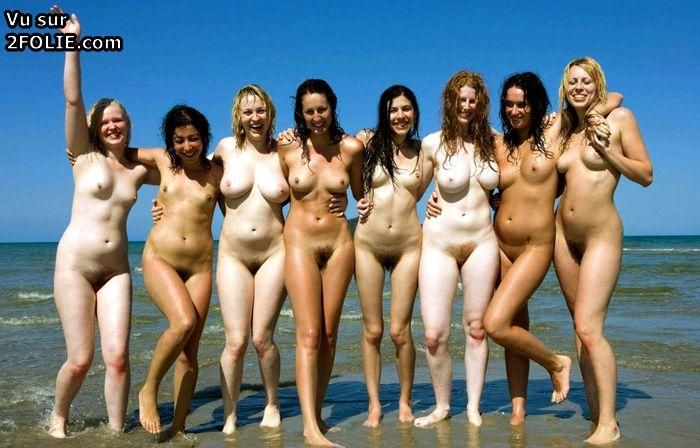 Photos de groupe de femmes nues