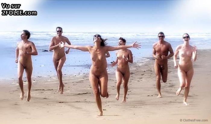 Photos de vacances nues