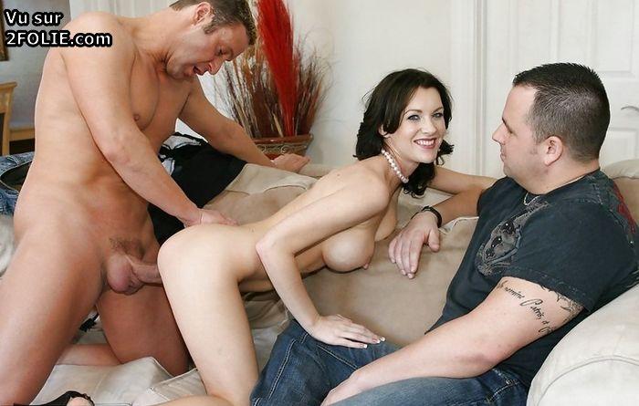 Муж привел жену чтобы ее выеб другой мужчина