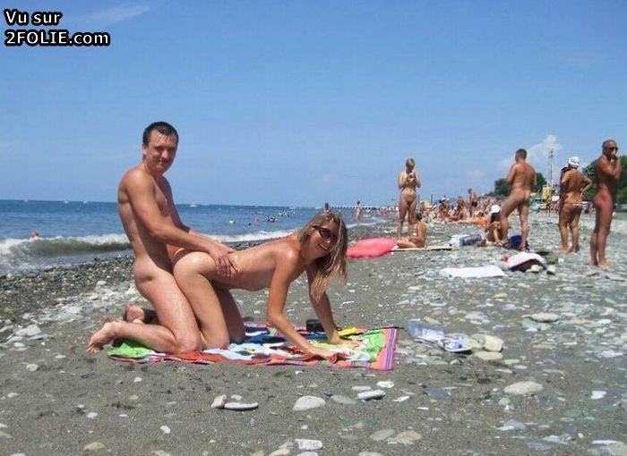 Sexe amateur sur la plage