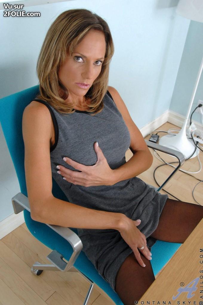 Sexe mature au bureau