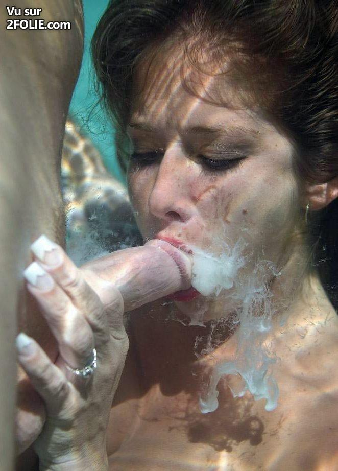 Underwater deepthroat