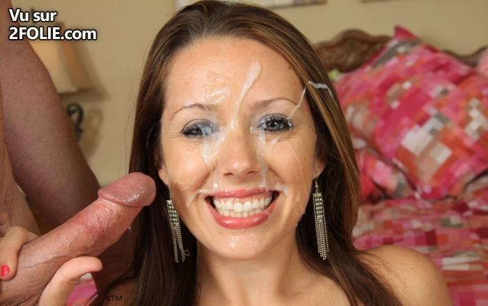 супер фото девушек в сперме на лице