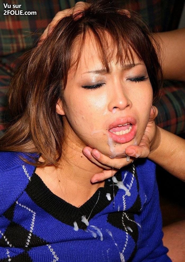 Bouche a sperme - Sexe Asiatique