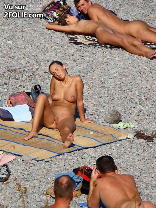 Photo voyeur plage